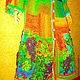"""Верхняя одежда ручной работы. Платье-пальто """"Лиса и виноград"""". Анна Лесникова         Luxury style. Ярмарка Мастеров. Платье вязаное"""