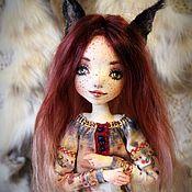 Куклы и игрушки ручной работы. Ярмарка Мастеров - ручная работа Рысь. Handmade.