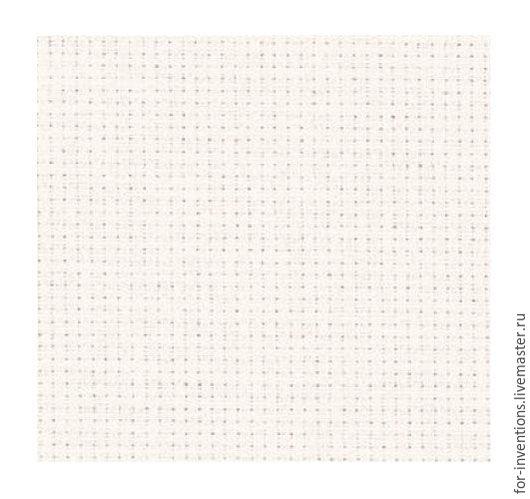 Вышивка ручной работы. Ярмарка Мастеров - ручная работа. Купить Канва Aida 14 150x100см белая. Handmade. Голубой, канва