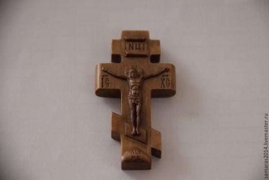 Кулоны, подвески ручной работы. Ярмарка Мастеров - ручная работа. Купить Деревянный нательный крестик. Handmade. Крестик из дерева
