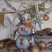Куклы и игрушки ручной работы. Ярмарка Мастеров - ручная работа Добрый Снеговик. Handmade.