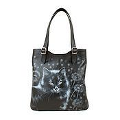 Сумки и аксессуары handmade. Livemaster - original item Medium tote bag