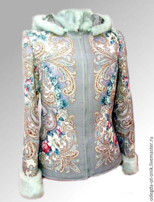 """Верхняя одежда ручной работы. Ярмарка Мастеров - ручная работа. Купить куртка """"Тайна сердца"""" серая. Handmade. Разноцветный"""
