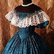 Одежда ручной работы. Ярмарка Мастеров - ручная работа Бальное платье 19 века. Handmade.