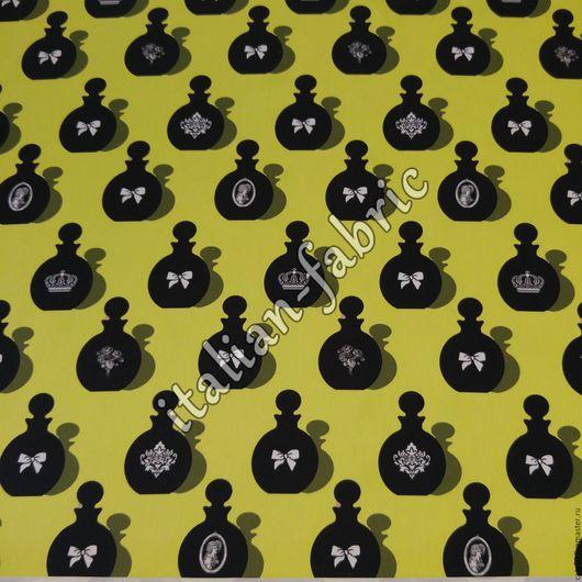 """Шитье ручной работы. Ярмарка Мастеров - ручная работа. Купить Сатин в 2-х цветах  Lanvin """"Флакончики"""". Handmade. цветы"""