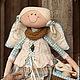 Коллекционные куклы ручной работы. Ярмарка Мастеров - ручная работа. Купить Фея шерстяных клубочков. Ангел вязальщиц и рукодельниц. Handmade.
