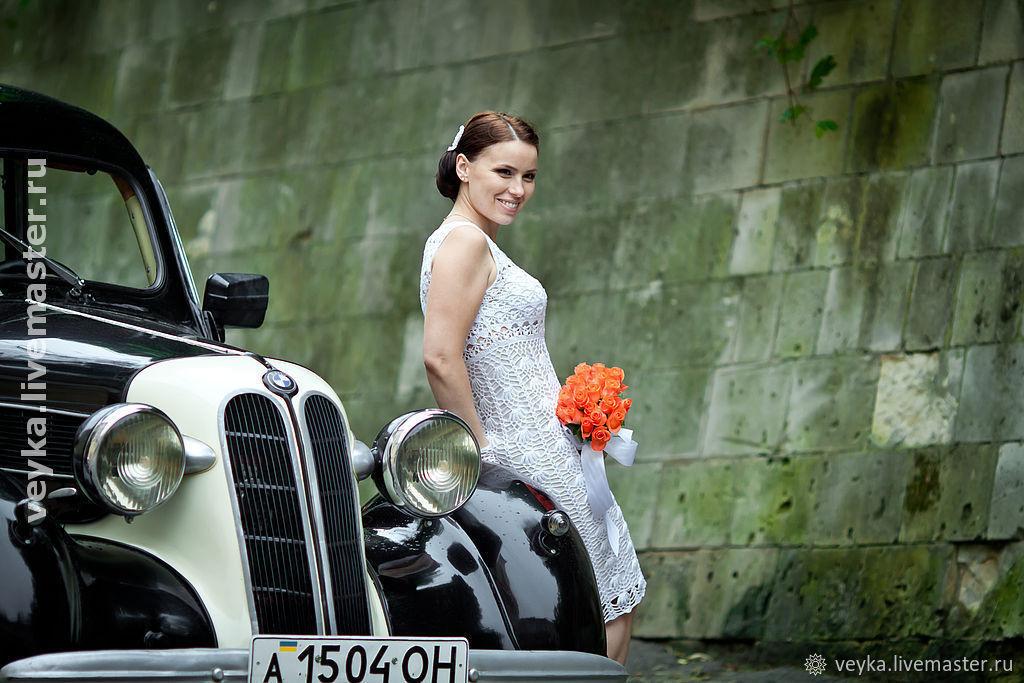 Crochet summer dress ' Retro', Wedding dresses, Lviv,  Фото №1