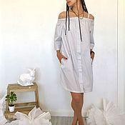"""Одежда ручной работы. Ярмарка Мастеров - ручная работа летнее платье """" Летнее """". Handmade."""