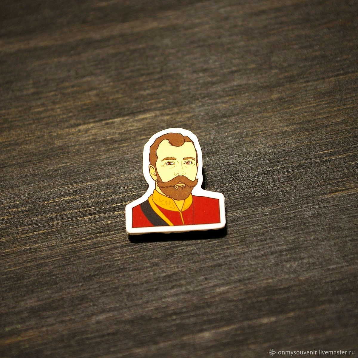 Icon ' Nicholas II', Badge, Voronezh,  Фото №1