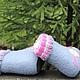 """Обувь ручной работы. Валенки детские """"Полянка"""". РоРи (Роза Галеева). Ярмарка Мастеров. Теплая обувь"""
