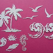Вырубка Пальмы, море,  чайки