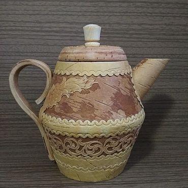 """Посуда ручной работы. Ярмарка Мастеров - ручная работа Чайник """"Узорчатый"""". Handmade."""