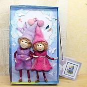 Куклы и игрушки ручной работы. Ярмарка Мастеров - ручная работа Сладкая парочка. Handmade.
