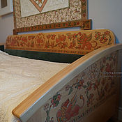 Для дома и интерьера handmade. Livemaster - original item Sofa bed made of beech With lions. Handmade.