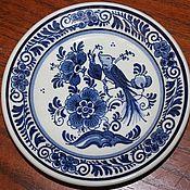 Винтаж handmade. Livemaster - original item Decorative plate