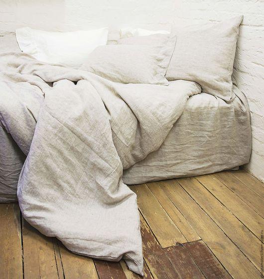 Текстиль, ковры ручной работы. Ярмарка Мастеров - ручная работа. Купить Льняная простыня, 240х260. Handmade. Белый, льняные изделия