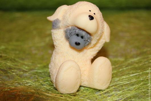 """Мыло ручной работы. Ярмарка Мастеров - ручная работа. Купить Мыло """"Тедди в костюме овечки"""". Handmade. Мыло ручной работы"""