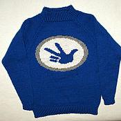 """Работы для детей, ручной работы. Ярмарка Мастеров - ручная работа Детский свитер """"Фиксики"""". Handmade."""