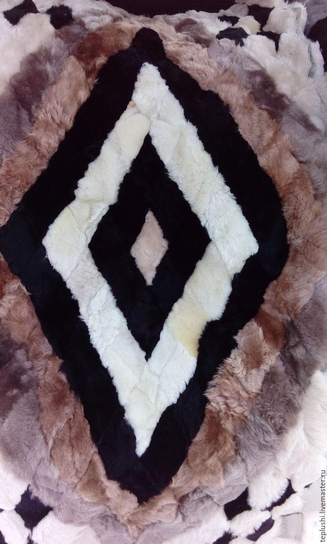 Текстиль, ковры ручной работы. Ярмарка Мастеров - ручная работа. Купить Меховые накидки из овчины ( пара). Handmade. Купить