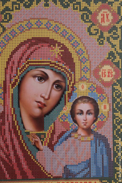 Наборы для вышивки казанская божья мать