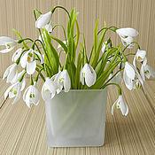 Цветы и флористика handmade. Livemaster - original item Snowdrops. Handmade.