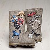 """Обувь ручной работы. Ярмарка Мастеров - ручная работа Валенки """"Гламурные"""". Handmade."""