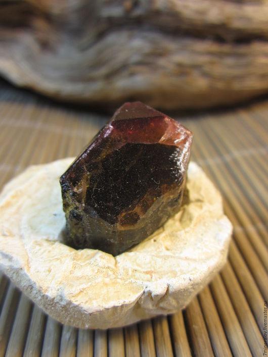 Минералы, друза ручной работы. Ярмарка Мастеров - ручная работа. Купить Турмалин Верделит 11гр Кристалл - природный камень. Handmade.
