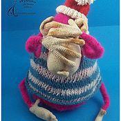 Куклы и игрушки ручной работы. Ярмарка Мастеров - ручная работа Обезъянка Розанна. Handmade.