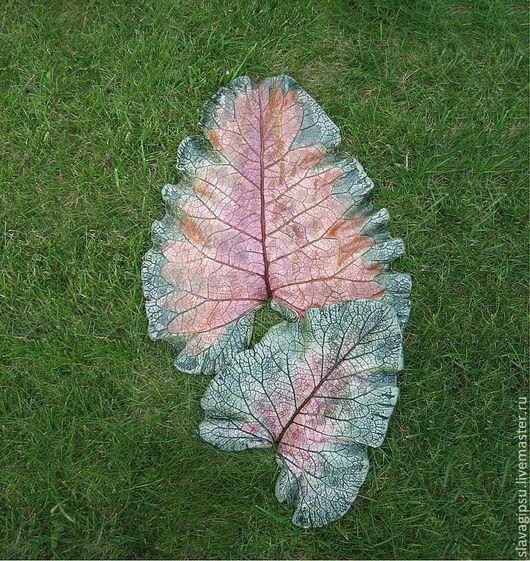 Цена за лист длиной 28см\r\nПара листьев. Размеры 40см и 28см, цена комплекта 3000 рублей. Продаются как вместе, так и по-отдельности. Пара продана, подобное повторение - возможно.