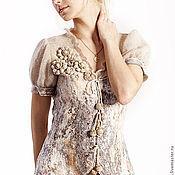 """Одежда ручной работы. Ярмарка Мастеров - ручная работа Жакет + юбка """"Поющий песок"""". Handmade."""