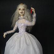 Куклы и игрушки ручной работы. Ярмарка Мастеров - ручная работа Белая королева. Handmade.