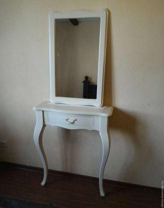 Мебель ручной работы. Ярмарка Мастеров - ручная работа. Купить Консоль Любовь. Handmade. Бежевый, туалетный столик, берёза