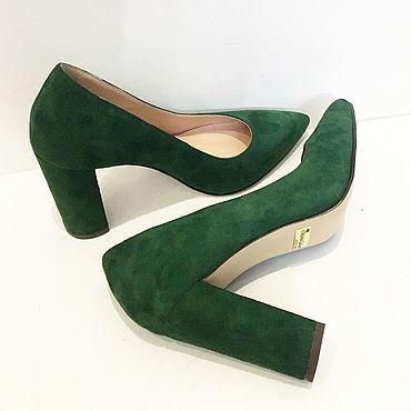 Обувь ручной работы. Ярмарка Мастеров - ручная работа Туфли лодочки. Handmade.