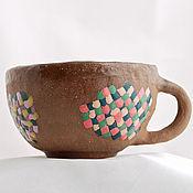 Посуда handmade. Livemaster - original item Soup Cup