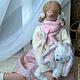 Куклы Тильды ручной работы. Ярмарка Мастеров - ручная работа. Купить Анечка и Зая. Handmade. Белый, интерьерная кукла, уютный