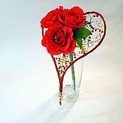 Цветы и флористика ручной работы. Ярмарка Мастеров - ручная работа Букет из конфет Для любимой. Handmade.