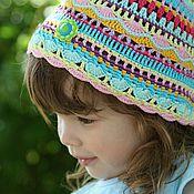 """Работы для детей, ручной работы. Ярмарка Мастеров - ручная работа летние шапочки """"Яркое лето"""". Handmade."""