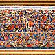 Этно ручной работы. Ярмарка Мастеров - ручная работа. Купить Роспись плитки Панно Индийский орнамент. Handmade. Роспись плитки