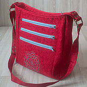 Сумки и аксессуары handmade. Livemaster - original item Bag Red. Handmade.