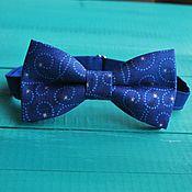 handmade. Livemaster - original item Tie Christmas night / tie necktie blue, stars. Handmade.