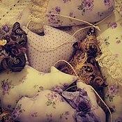 Куклы и игрушки ручной работы. Ярмарка Мастеров - ручная работа Текстильные новогодние игрушки на ёлку.. Handmade.