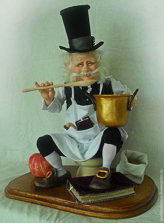 Коллекционные куклы ручной работы. Ярмарка Мастеров - ручная работа. Купить Эльф повар. Handmade. Авторская ручная работа