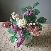 Цветы и флористика handmade. Livemaster - original item Bouquet of lilac Spring in the house. Handmade.