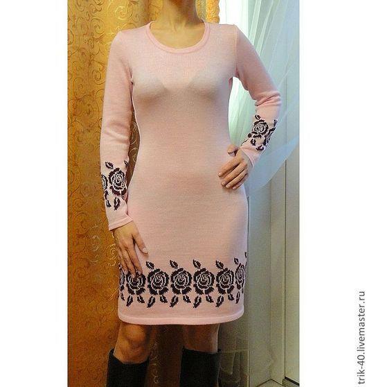 """Платья ручной работы. Ярмарка Мастеров - ручная работа. Купить Платье """"Нежность"""". Handmade. Бледно-розовый"""