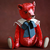 Куклы и игрушки ручной работы. Ярмарка Мастеров - ручная работа Алый. Handmade.