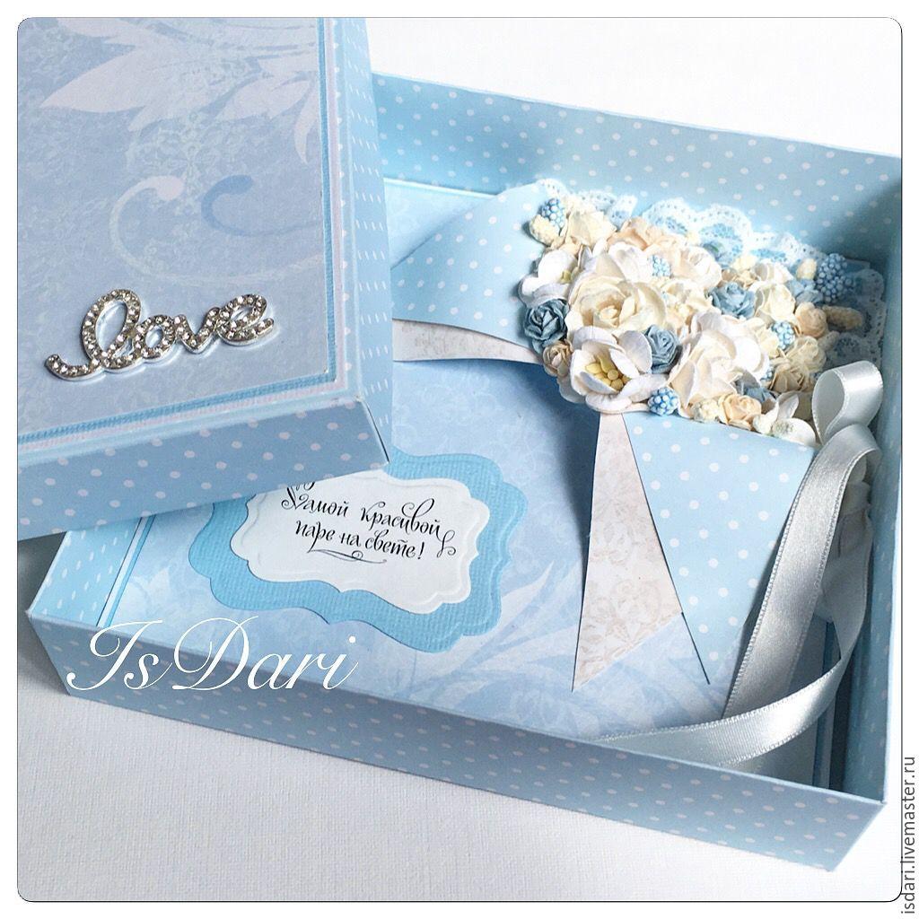 Коробка открытка на свадьбу 57