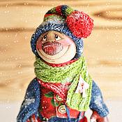 Куклы и игрушки ручной работы. Ярмарка Мастеров - ручная работа Снеговик 2. Handmade.