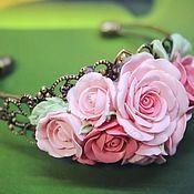 """Украшения ручной работы. Ярмарка Мастеров - ручная работа Браслет """"Дворцовые тайны"""" розовый. Handmade."""