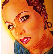 Картины и панно ручной работы. Ярмарка Мастеров - ручная работа Ваш Пастельный Портрет. Handmade.