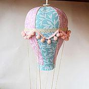 """Для дома и интерьера ручной работы. Ярмарка Мастеров - ручная работа """"Летать над бытом"""". Текстильный воздушный шар.. Handmade."""